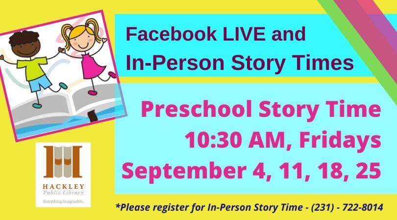 Preschool Story Time Facebook Live And In Person Hackley Public Library Use this theme to teach children about different living environments. preschool story time facebook live